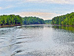 Confluence of the Occoquan River and Bull Run
