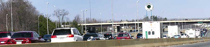 I-95 near Potomac Mills Mall, Woodbridge, VA
