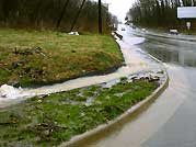 Stormwater from roads travels to our streams.