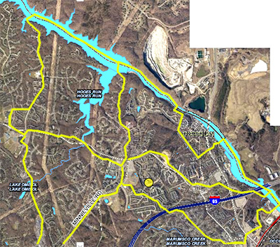 Occoquan Sub-watershed Study Area